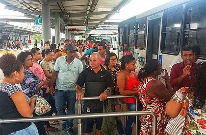 Após protesto, rodoviários liberam acesso da estação de ônibus Acesso Norte