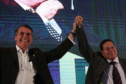 Bolsonaro avalia Mourão como 'gerente' do governo
