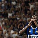 Lukaku marcou o gol da vitória da Inter de Milão contra o Cagliari e foi vítima de racismo