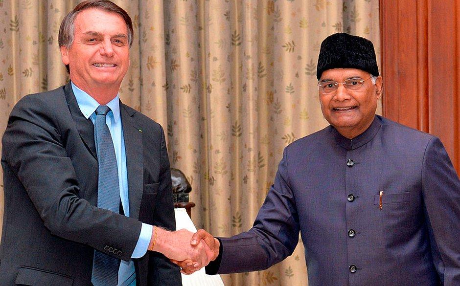 Bolsonaro e Modi defendem reforma no conselho de segurança da ONU