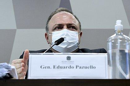 'Prestamos todo o apoio possível', diz Pazuello na CPI sobre crise em Manaus