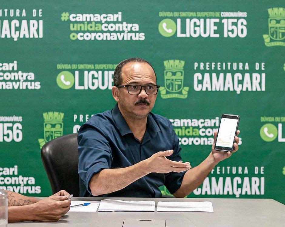 """ENTREVISTA: """"Camaçari usará de todas ferramentas disponíveis para incentivar retomada de crescimento"""", diz Elinaldo"""
