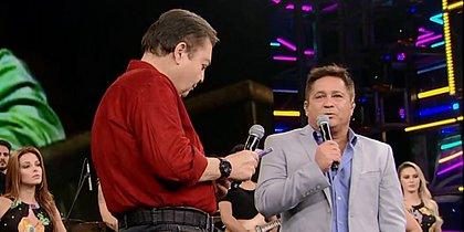 Após pedido de Faustão, Leonardo diz que não sabe cantar canções de Roberto Carlos