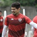 Artilheiro do Vitória na temporada, com sete gols, Léo Ceará se firma no clube que o revelou pela primeira vez