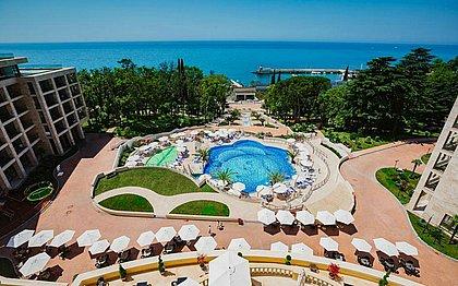 De folga, jogadores da seleção brasileira poderão descansar e curtir as instalações do luxuoso resort em que estão hospedados em Sochi