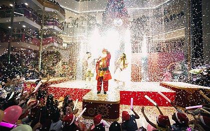 Bela Vista inaugura decoração de Natal e renova parceria com Osid