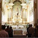 Cerimônia ocorrei na Igreja da Vitória