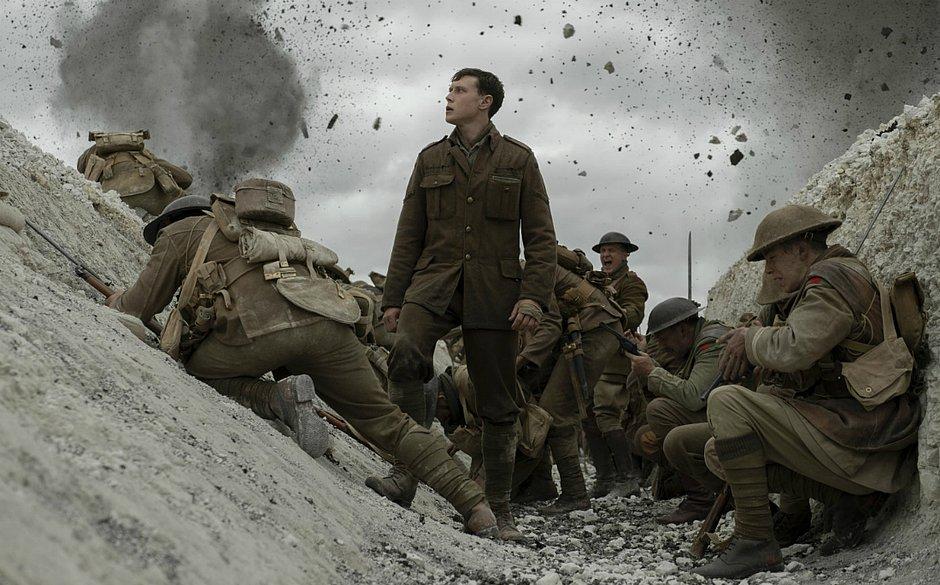 1917: depois do Globo de Ouro, é o favorito a melhor filme