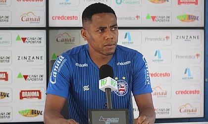 Elias defendeu o Bahia no ano passado e não deixou saudades no tricolor