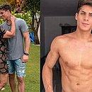Nadine abandonou a descrição e celebrou a nova relação, com as bençãos do filho Neymar, que é amigo de Tiago