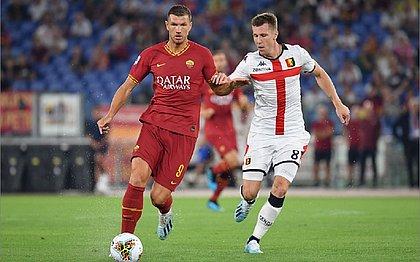 Em estreia, Roma empata em jogo de 6 gols com o Genoa