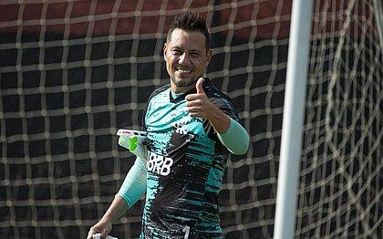 Diego Alves está no Flamengo desde 2017