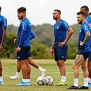 Elenco do Bahia se prepara para a estreia na temporada 2020