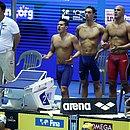 A equipe de revezamento 4x200m livre do Brasil garante vaga nos Jogos Olímpicos de Tóquio, em 2020