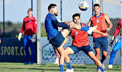 Com cinco gols, Rossi é o vice-artilheiro do Bahia na temporada 2021