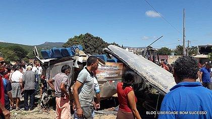Cinco feridos no acidente em Seabra estão em estado grave em Salvador