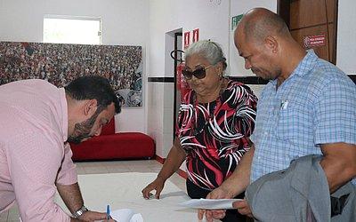Isaura Maria se inscreveu ao lado do candidato a vice Herval Rêgo