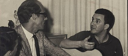 Carlos Coqueijo e João Gilberto