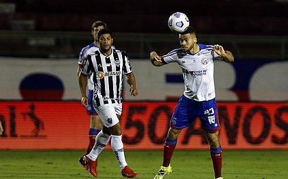 Bahia chegou a abrir 2x0, mas Atlético descontou e ficou com a vaga nas quartas de final