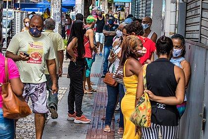 Avenida Sete tem alta procura de clientes na reabertura das lojas