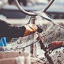 O desastre tem afetado a vida de pescadores