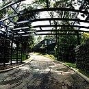 Entrada do novo Jardim Botânico, em São Marcos