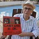 Roberto Sant'Ana, um dos produtores do concerto histórico, foi o responsável por apresentar Gil a Caetano