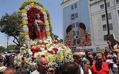 Programação festiva de Santa Luzia terá cinco missas e uma procissão