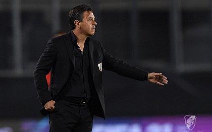 Marcelo Gallardo, técnico do River: time vive surto de covid-19
