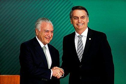 'Bolsonaro deve admitir erro e propor um pacto', afirma Michel Temer