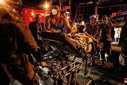 'Tentei pular do 3º andar', diz sobrevivente do incêndio no Badim