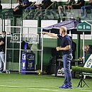 Mano Menezes foi expulso ao final do jogo e não comandará o Bahia contra o Atlético-MG