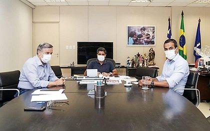 Reunião entre ACM Neto, Bruno Reis e Luiz Carreira marca início de transição