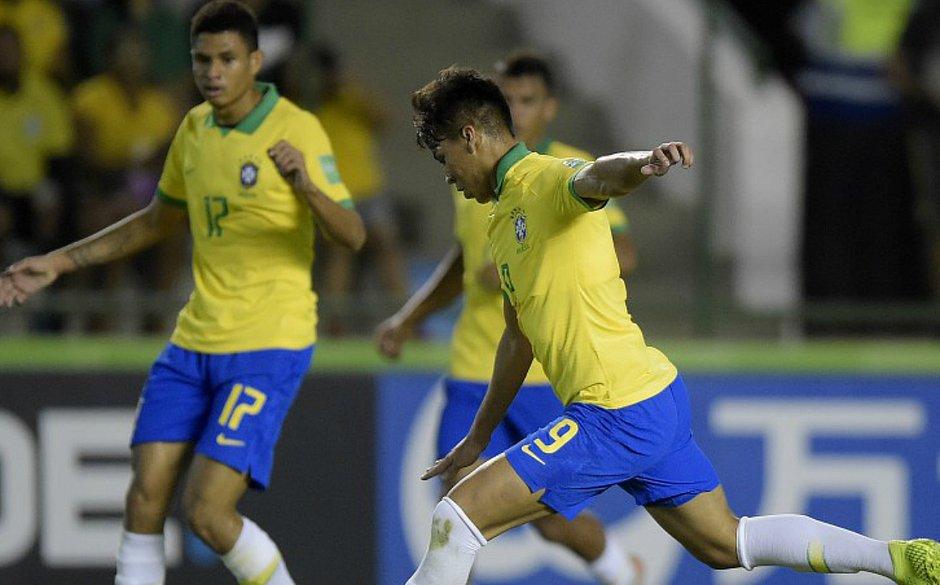 Brasil decide Mundial Sub-17 contra o México