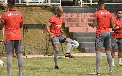 Vitória fechou nesta segunda-feira (12) os treinos para o próximo jogo