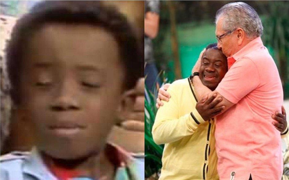 Abandonado pelos pais, 'Buiu' revela que Carlos Alberto de Nóbrega tentou adotá-lo
