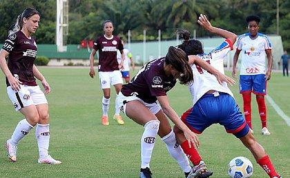 Bahia não conseguiu superar a Ferroviária e amargou mais um tropeço no Brasileirão feminino