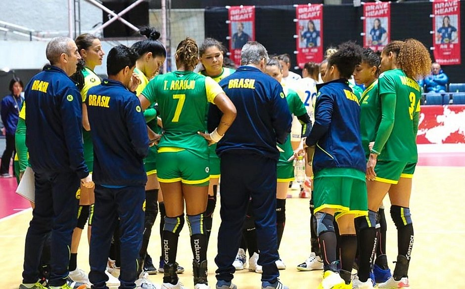 Brasil encara duro desafio no Mundial de Handebol Feminino