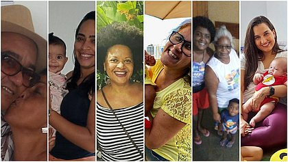 Seis filhos deixaram mensagens a suas mães