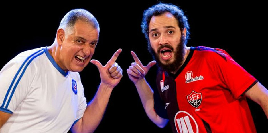 Antônio Roque e João Guisande atuam no espetáculo