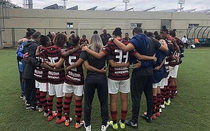 Time feminino do Flamengo fez 56x0 no Greminho
