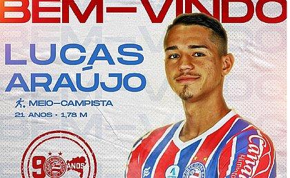Lucas Araújo é a nona contratação do Bahia temporada 2021