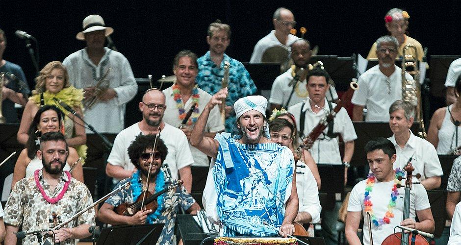 A Orquestra Sinfônica faz concerto nesta domingo (16) no TCA