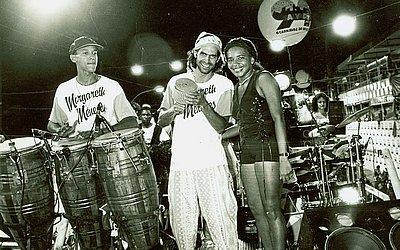 Com Jackson Costa no Carnaval 1994