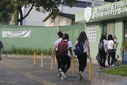 Professores cabulam aula no primeiro dia de ensino presencial na Bahia