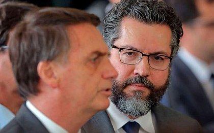 Ernesto Araújo veta participação da Nicarágua em posse de Bolsonaro