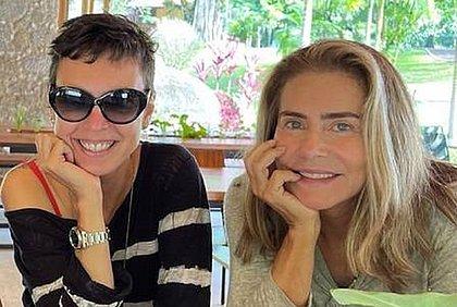Maitê diz que 'intimidade foi exposta' após romance com Adriana Calcanhotto vazar