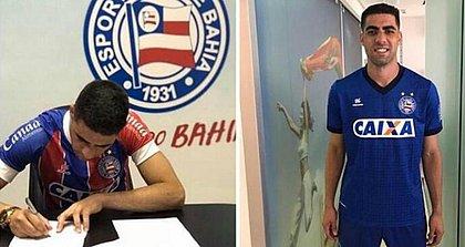 Xandão assinou com o Bahia até o final da temporada
