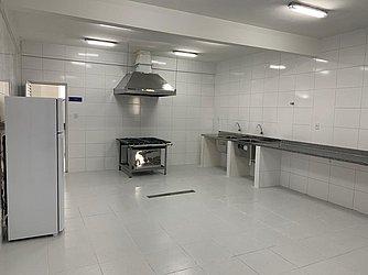 Cozinha da escola foi reformada