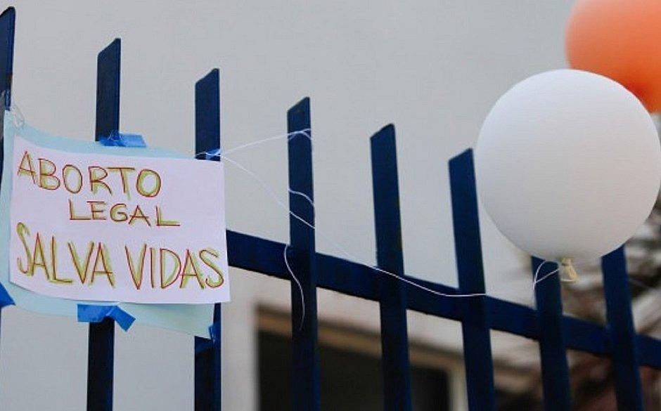 Hospital amanheceu com cartazes e balões em homenagem à criança